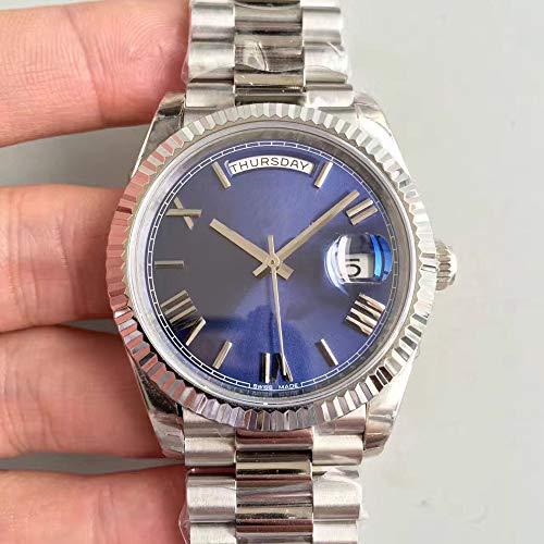 CWTCHY Luxusuhr Heißer Uhr Mechanische 40mm Herrenuhren Edelstahl Lünette Edelstahlarmband Armbanduhren