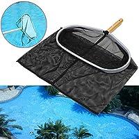 BaBaSM Praktisch Swimmingpool-Netz, Hochleistungsschwimmer-Blatt-Rake-Maschen-Netz 18inch Aluminiumrahmen