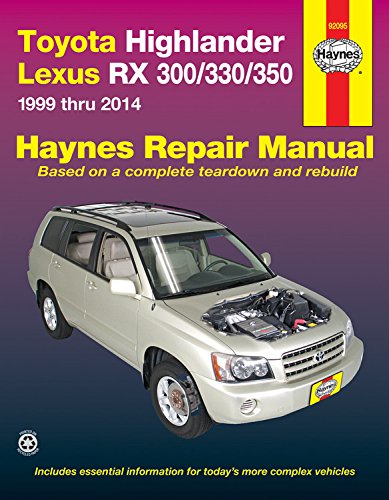 toyota-highlander-lexus-rx-300-330-350-1999-thru-2014-haynes-automotive-repair-manuals