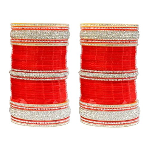 MUCH MORE Work Stunning High Quality Bridal Chura Bangle Women