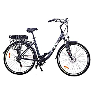 Cyclamatic GTE PRO Step-Through Electric Bike with Lithium-Ion Battery
