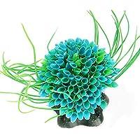 NaiCasy Sea Flower Acuario Decoración de simulación de Plantas de jardín Ornamento Paisaje bajo el Agua