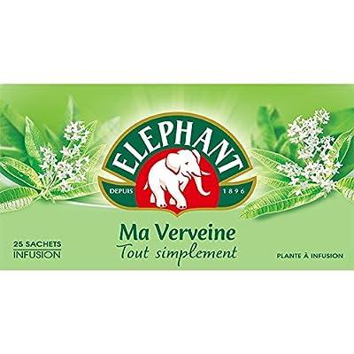Elephant Infusion Verveine 25 Sachets 33g - Lot de 4