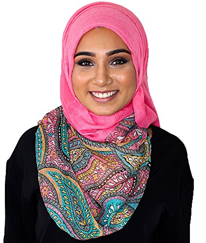 Hijab-ista - Fichu - Femme Orange - Corail
