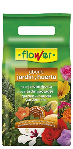 Flower 10850 10850-Abono Huerta y jardín, 2 kg, No No Aplica, 21x7x42.5...