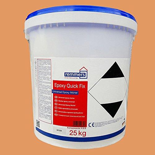 Epoxy Quick Fix, Reaktionsharzmörtel, Reparaturmörtel, Bauharz, 25 KG Set (Epoxy Quick Set)
