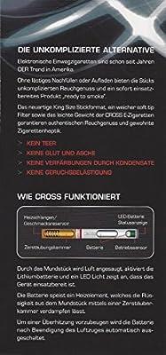 Cross Einweg E-Zigarette Vanilla 1,6 % - 5 Stück von von Eicken