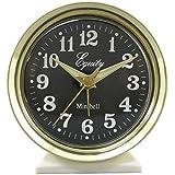 Equity by La Crosse 12020 Key-Wound Alarm Clock, white