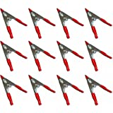 12pièces Colle Soudure, pince étau de serrage, Ressort Zwing, métal 50mm