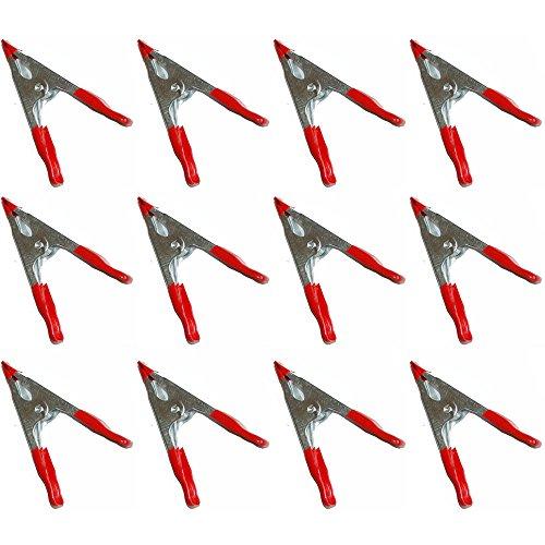 12 pièces Colle Soudure, pince étau de serrage, Ressort Zwing, métal 50 mm