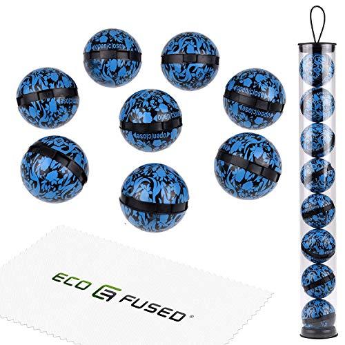 Eco-fused sfere deodoranti per sneakers, armadietto, borsa da palestra - confezione da 8 - neutralizza l'odore di sudore - ottimo anche per casa, ufficio e auto - semplice meccanismo - fresco oceano