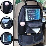 Auto Rückenlehnentasche DELUXE Rücksitztasche Spielzeugtasche (Mit Tablet-Fach)