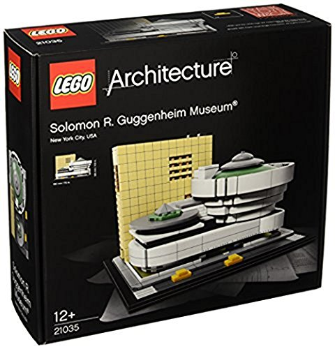 LEGO - 21035 - Architecture - Jeu de Construction - Musée Solomon R. Guggenheim