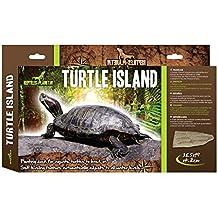 Reptiles Planet Tortuga Isla para Tortugas acuáticas, ...