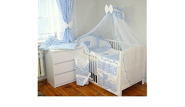 Babys comfort 16tlg baby bettwÄsche bettset mit stickerei 12