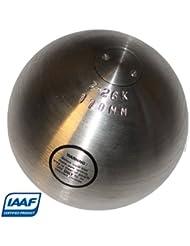 Bola de peso de alto rendimiento - Certificado IAAF - 7,26 kg Silver Gentleman