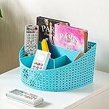 #10: SUPO® Multi-Segment Hollow Basket/Storage Box/Organizer/Container Kitchen Bedroom Bathroom Office(26X20X14CM)(Assorted colors)