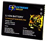 Extremecells® Akku für Samsung Galaxy S Duos GT-S7562 Duos 2 GT-S7582 Batterie