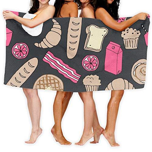 Dama Home Strandtuch Brunch 51x31 Zoll weiches leichtes saugfähiges für Bad Schwimmbad Yoga Pilates picknickdecke handtücher