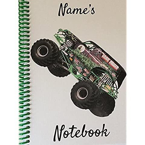 Grave Digger Monster Truck – Personalizzabile NOTEBOOK - Graves Gran