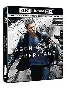 Jason Bourne : l'héritage [4K Ultra HD + Blu-ray + Copie Digitale UltraViolet]