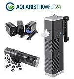 Chj-502 Aquarium Innenfilter Regelbar Bis 150 Liter Aquarien Nano Cube Eckfilter Pumpe Filter Schwammfilter Wasserfilter Leise