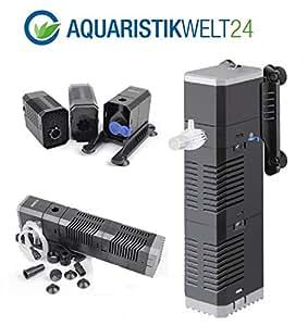 chj 502 aquarium innenfilter regelbar bis 150 liter aquarien nano cube eckfilter pumpe filter. Black Bedroom Furniture Sets. Home Design Ideas