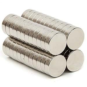 kleine runde und starke magnete von ricisung 5 mm x 1 mm k hlschrankmagnet grad n35 100pcs. Black Bedroom Furniture Sets. Home Design Ideas