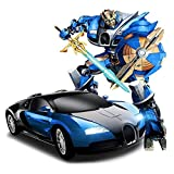 Once More Kids Plastic Blue Robot Mini Car