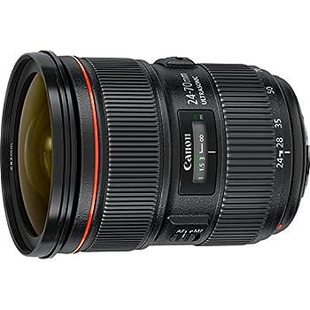 Canon Obiettivo EF 24-70 mm, 1:2.8L II USM, Nero