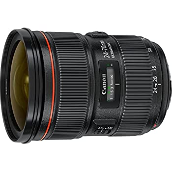 Canon EF 24-70mm f/2.8L II USM Standard-Zoom Objektiv (82mm Filtergewinde) schwarz