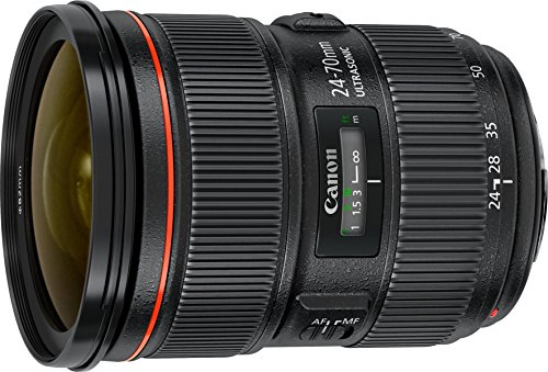 Canon EF 24-70mm F2.8L II USM Standard-Zoom Objektiv (82mm Filtergewinde) schwarz