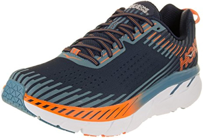 Hoka One One Clifton 5 Running Shoes Men Black Iris/Storm Blue Schuhgröße US 8   EU 41 1/3 2018 Laufsport Schuhe