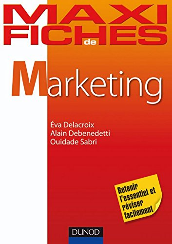 Maxi fiches de Marketing (Économie-Gestion)
