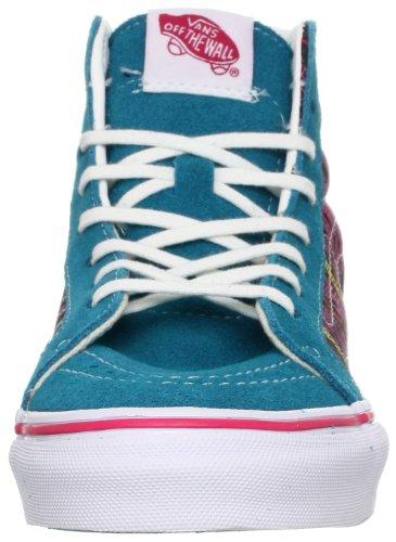 Vans U Sk8-Hi Slim, Scarpe Sportive-Skateboard Unisex – Adulto Blu (Bleu)