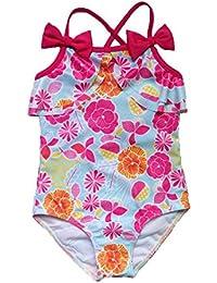 OverDose Niño bebé niños niña Bowknot impresión traje de baño bikini traje de baño Tankini ropa