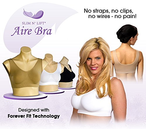Combo Pack of 3 Ladies Air Bra Slim Lift Look  available at amazon for Rs.600