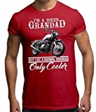 Mens T Shirt Slogan T Shirt Festival Top Cool Biker Grandad Quote T shirts Womens Summer Clothing