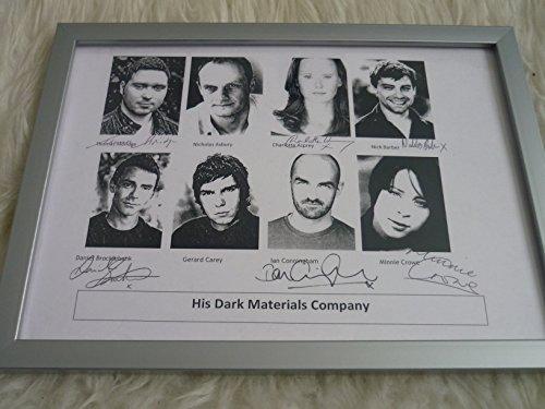 his-dark-materials-company-framed-signatures-signed-by-thomas-aldridge-charlotte-asprey-nick-barber-