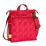 Lässig 1107001602 Kinderbuggytasche Casual Buggy Bag, Reflective Star, rot