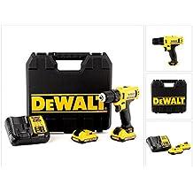 DeWalt DCD710D2-QW 10,8V - XR LI-ION - Taladro Atornillador XR 10,8V 10mm Li-Ion 2,0Ah
