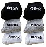 Reebok Unisex Solid Combo Of 6 Ankle Socks (Multicolor,Medium)