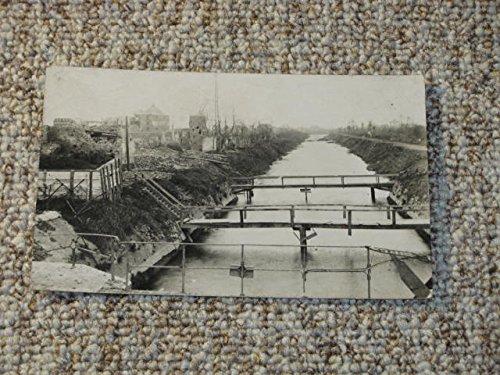 AK Flussübergang / Behelfsbrücken 1. Weltkrieg