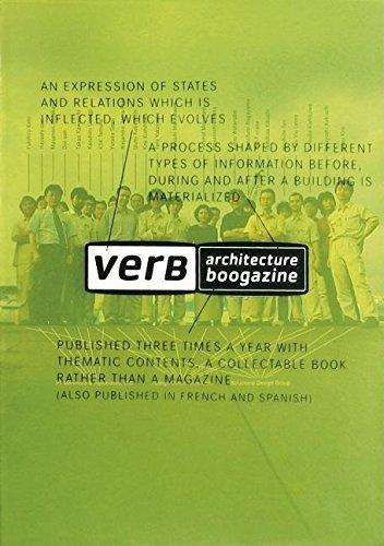VERB PROCESSING (Architecture Boogazine) by Jaime Salazar (1899-12-30)