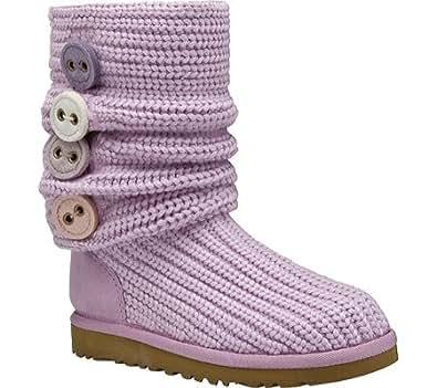 Ugg Kids Australia Cardy Ii Boots Orchid Bloom Size 6 / UK 5