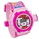 #2: Sshakuntlay Combo of Projector Watch (Assorted Design- One for Girl & One for Boy)
