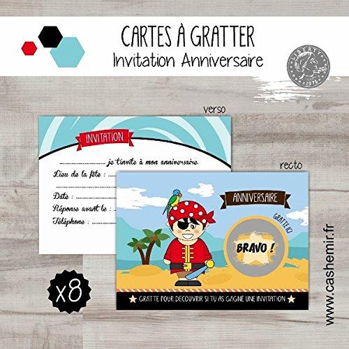 cartes-a-gratter-invitation-anniversaire-enfant-garcon-par-lot-de-8-pirate-ref28