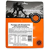EXPEDITION FOODS expeditionfoods.com Unisex's Porridge with Strawberries | Freeze-Dried Camping & Hiking Food | High Energy Serving | 800kcal Meal
