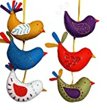 Corinne Lapierre fieltro Kit de decoración de patrones de costura para aves de verano