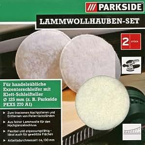 Parkside Lammwollhauben-Set ∅ 125/130mm, 2tlg.